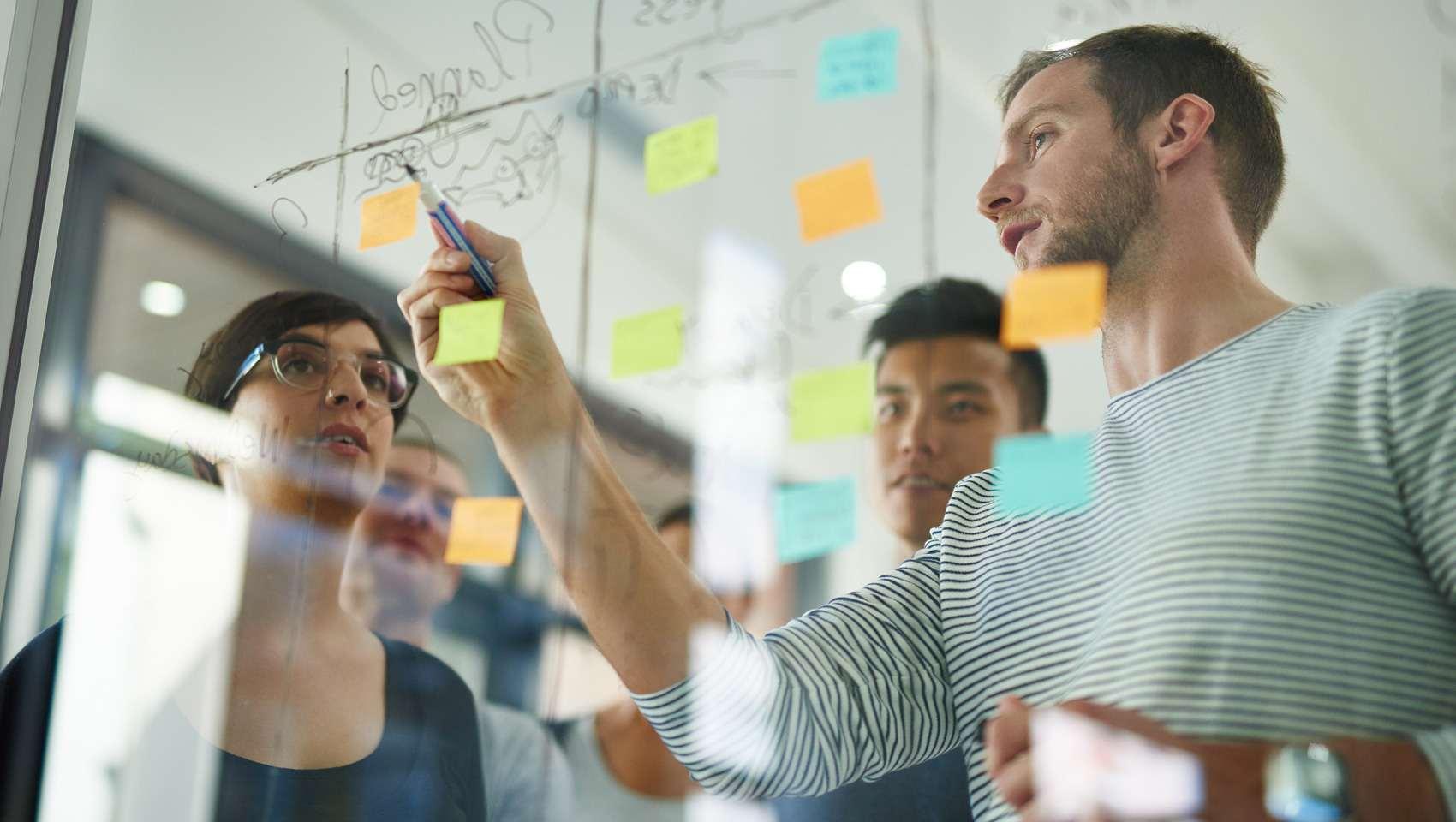 Vijf succesfactoren om een agile-projectaanpak te laten slagen_423